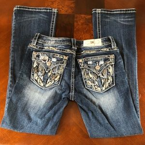 Miss me signature boot jean size 28